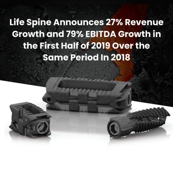 Life Spine First Half Growth