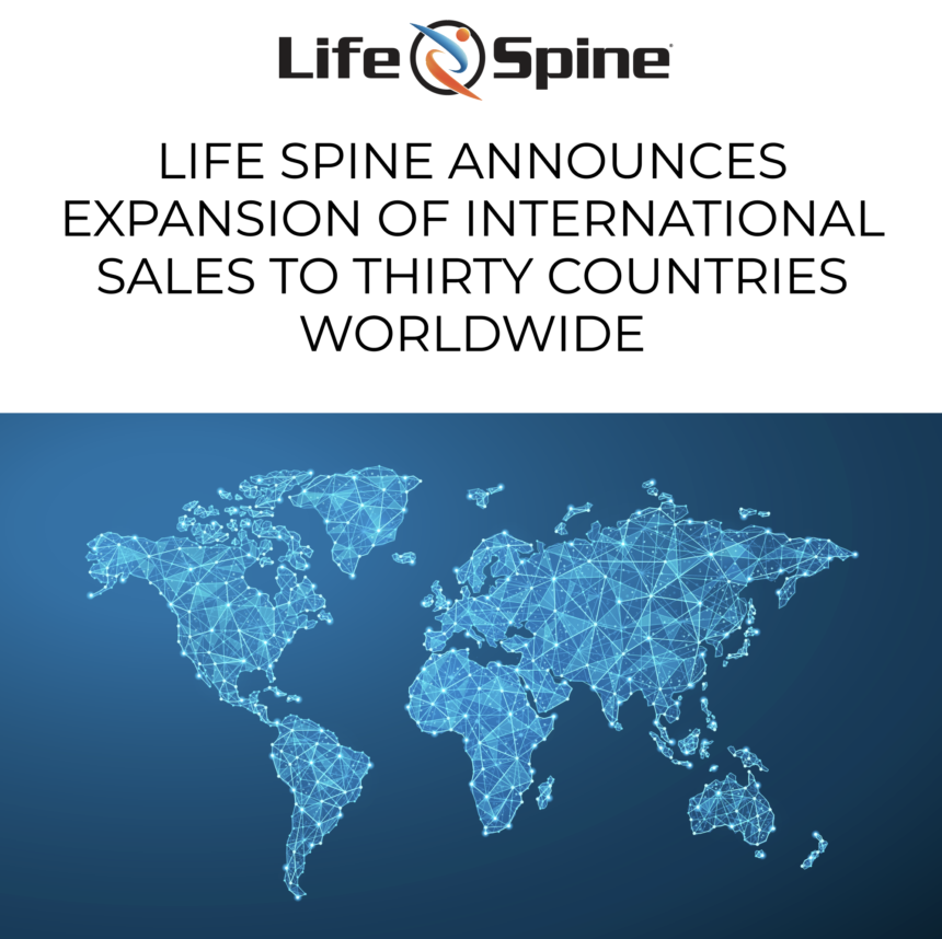 Life Spine International Sales