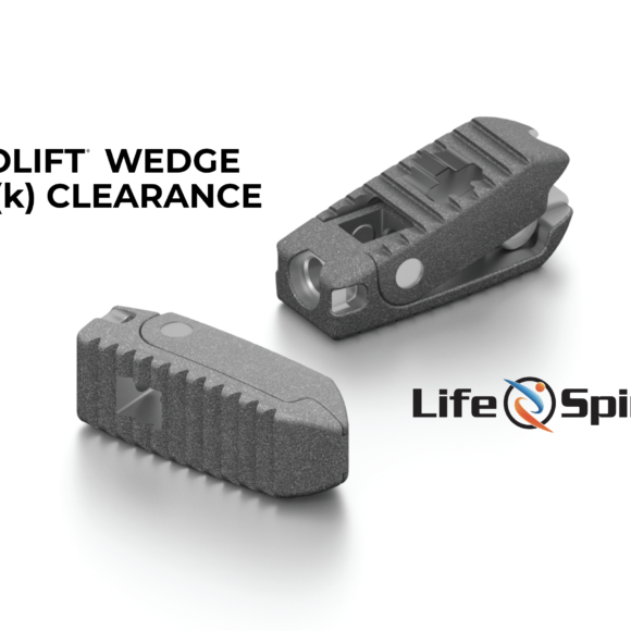 PROLIFT WEDGE 510(k) CLEARANCE